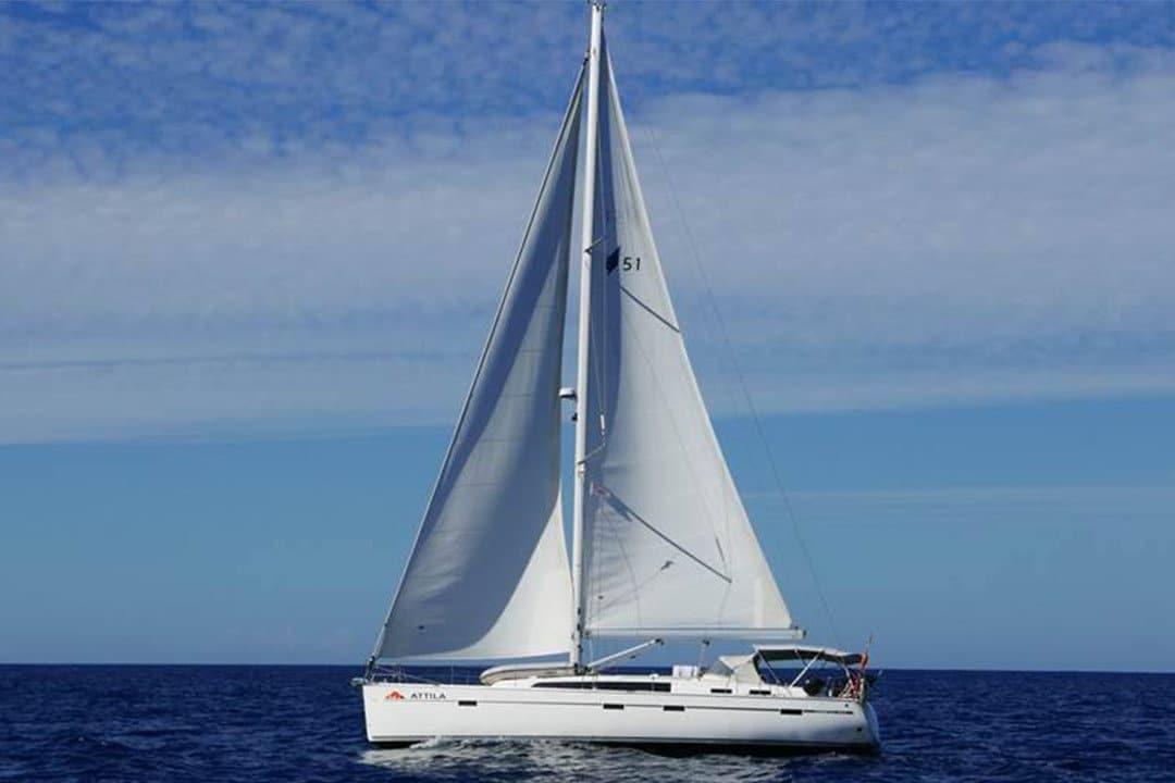 Attila Atlantic Ocean Canaray Islands Yacht Charter