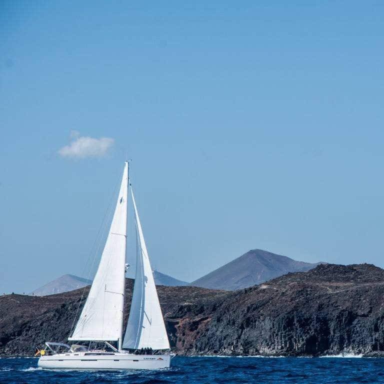 Bavaria Cruiser 56 Gatsby Sailing coast Lanzarote Atlantic Canary Islands