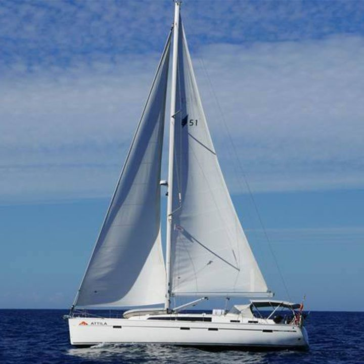 Attila Atlantic Ocean Canaray Islands Yacht Charter