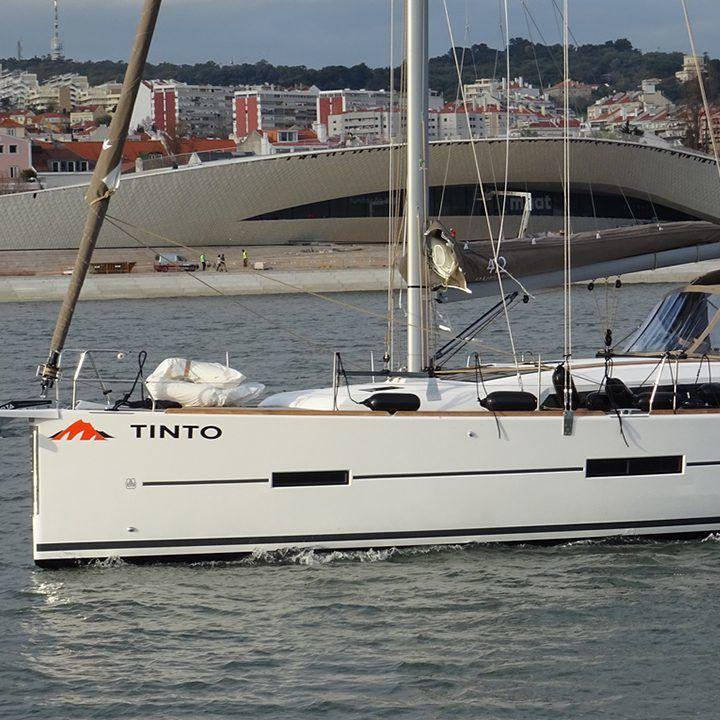 Dufour 412 GL Tinto near Coast Lanzarote Sailing Canary Islands