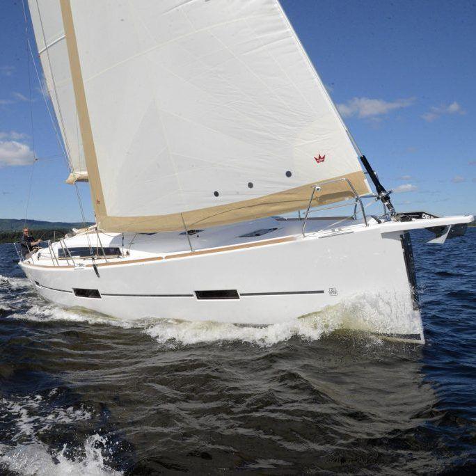Camino in the Ocean Sailing Blue Sky