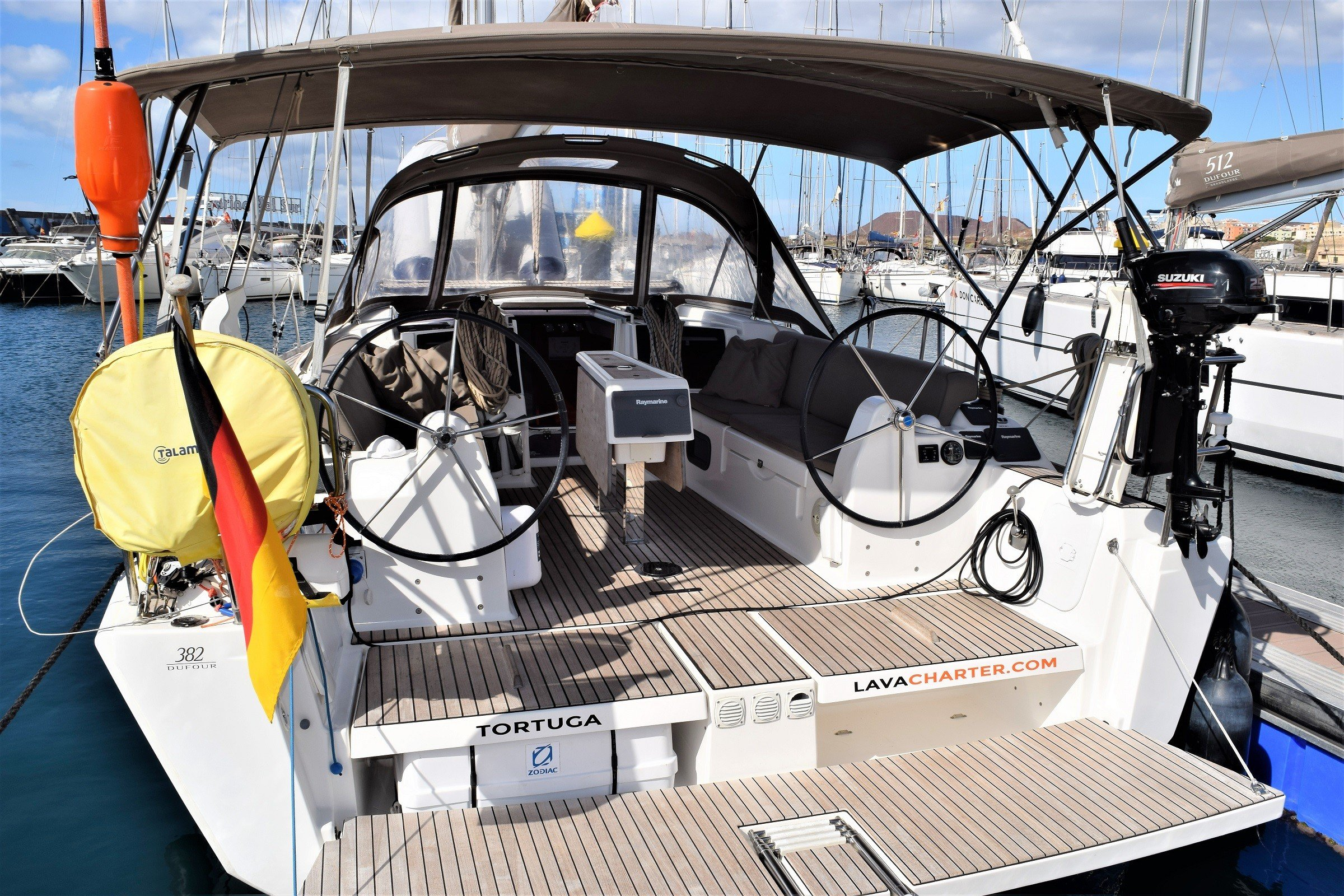 Dufour 382 GL Tortuga Marina Lanzarote Arrecife Canary Islands