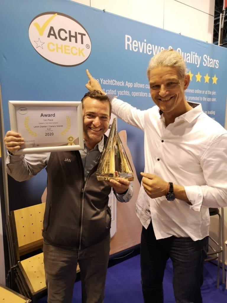 Lava Charter Gewinner Boot Düsseldorf Yachtsys